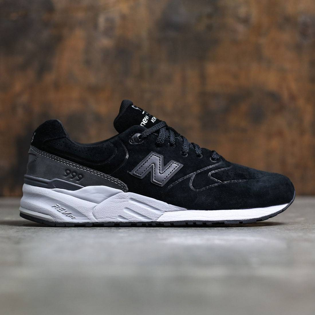 new balance black grey