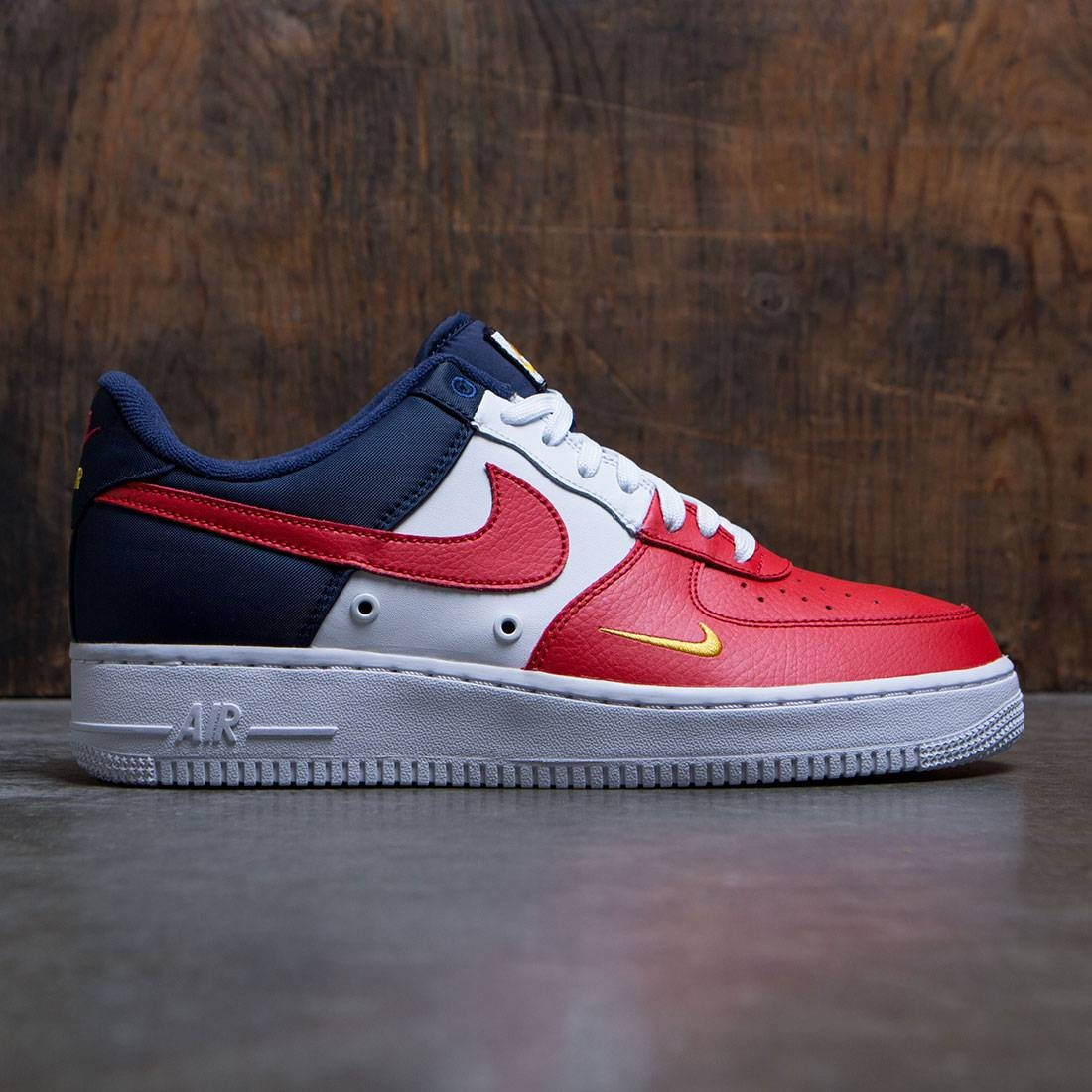 nike air force 1 lv8 red white blue