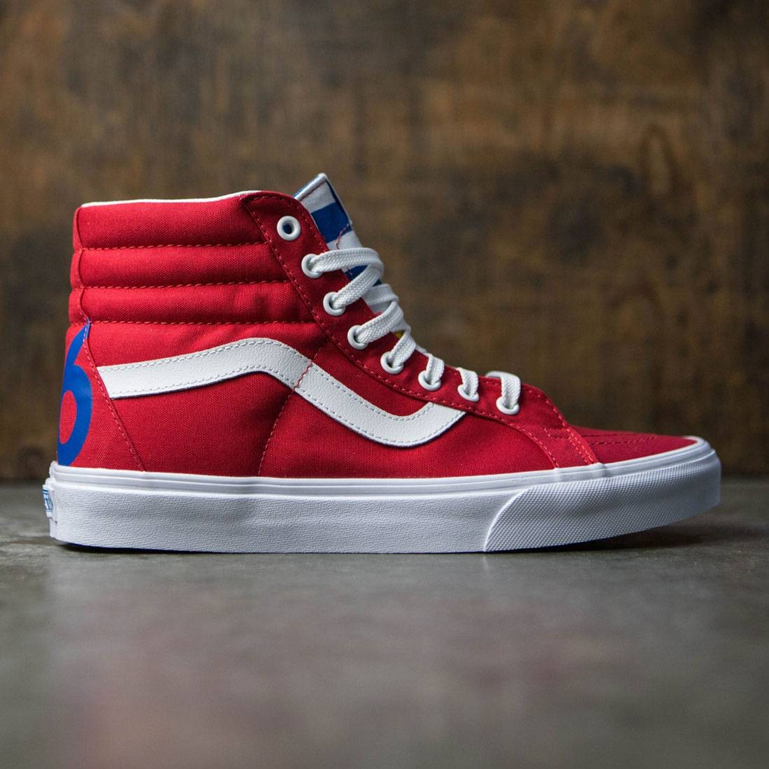 Vans Men Sk8-Hi Reissue Red
