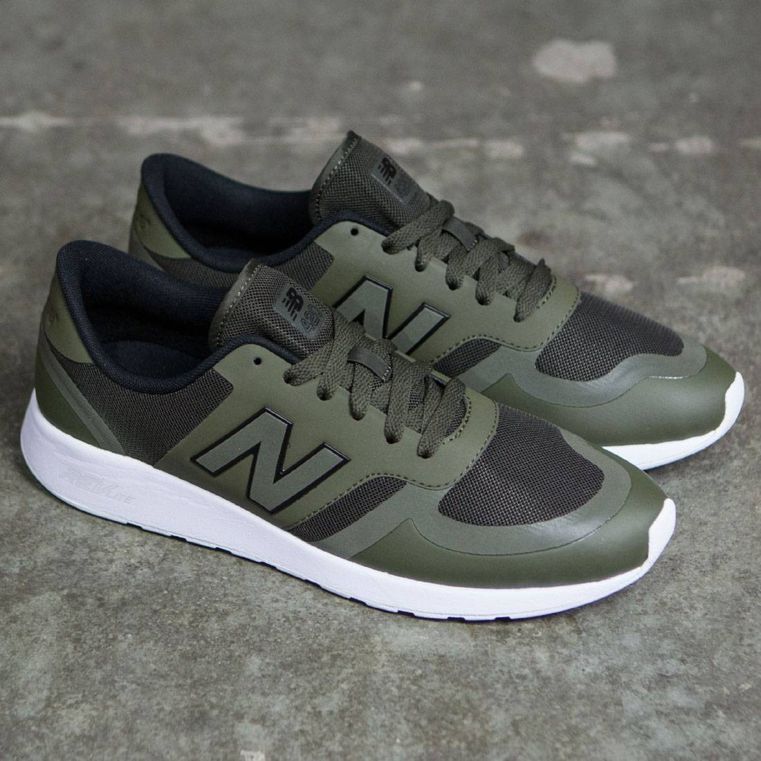 New Balance Men 420 Reflective Re-Engineered MRL420OB olive olive green