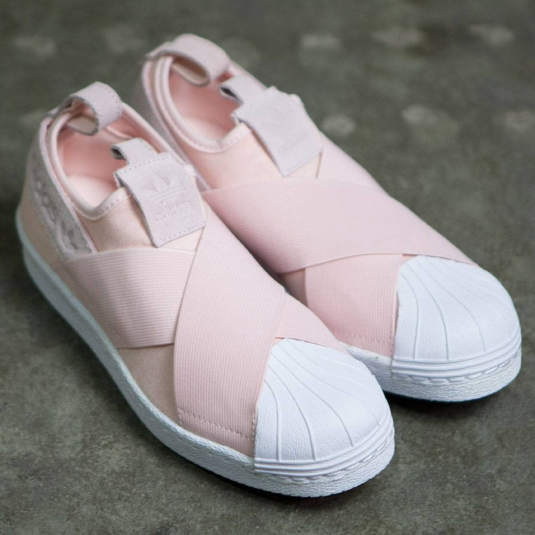 adidas superstar slip on women