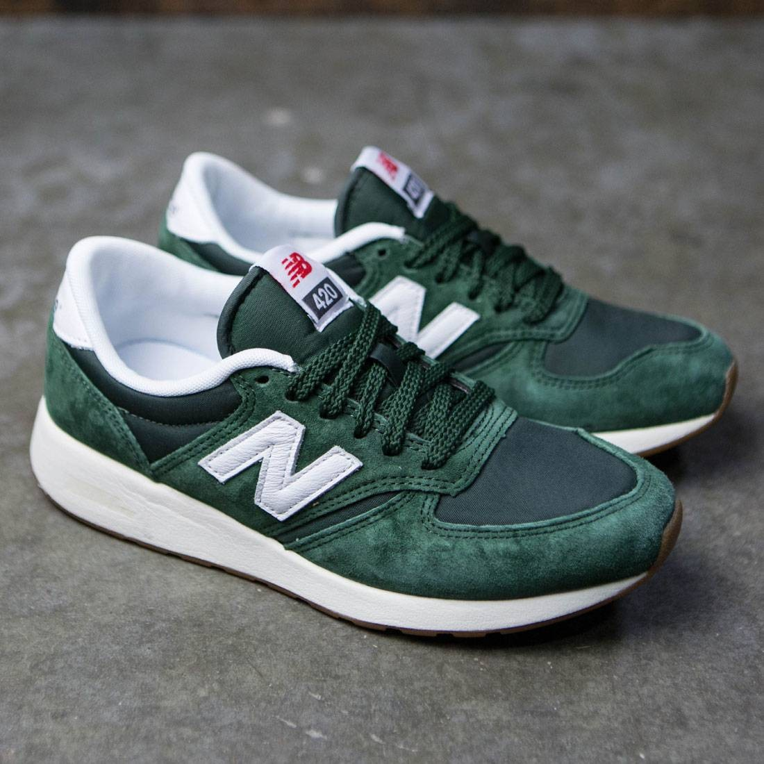 new balance 420 mens. new balance men 420 re-engineered mrl420sf (green / white) mens