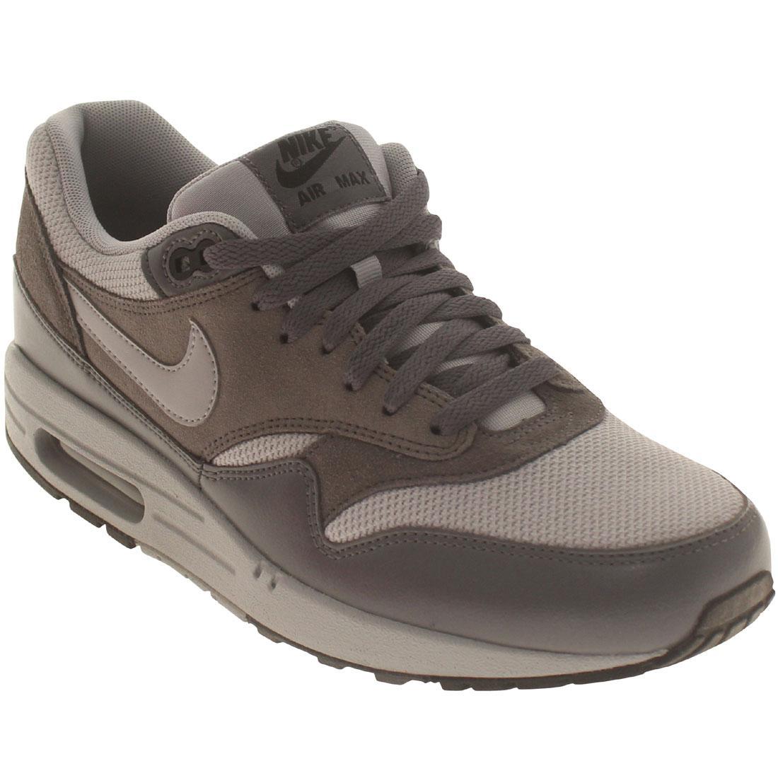 on sale 653fe a3e87 ... 537383-019 Nike Men Air Max Max Max 1 Essential gray wolf grey dark  grey ...