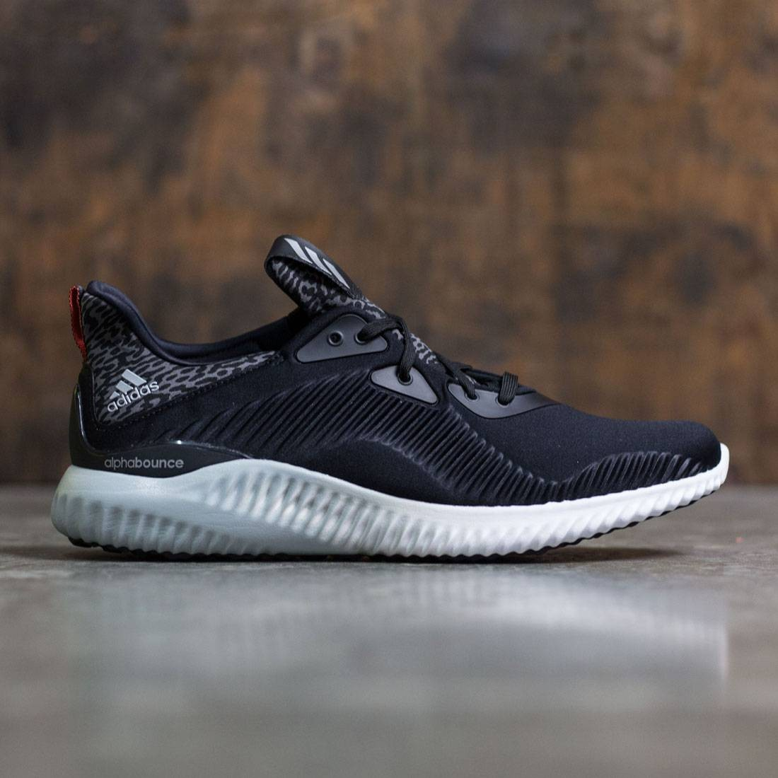 05037eb52 ... adidas men alphabounce (black core black silver metallic footwear white)