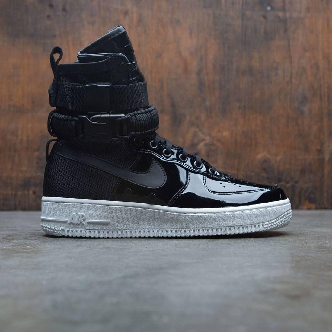 Nike Women Air Force 1 Sf Special Edition Premium Black
