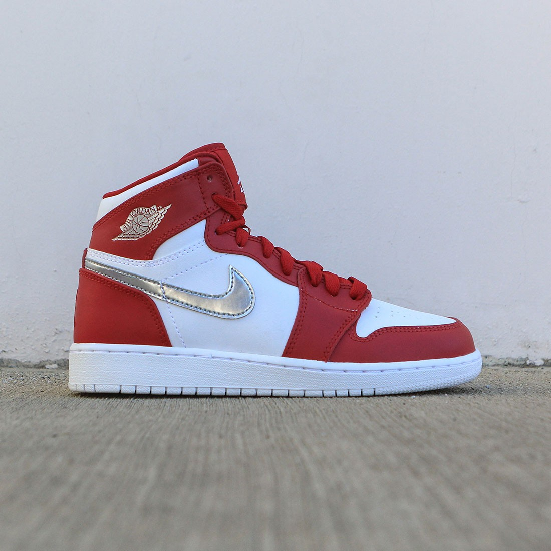 discount code for women air jordan retro 1 red white a3fb7 7619b