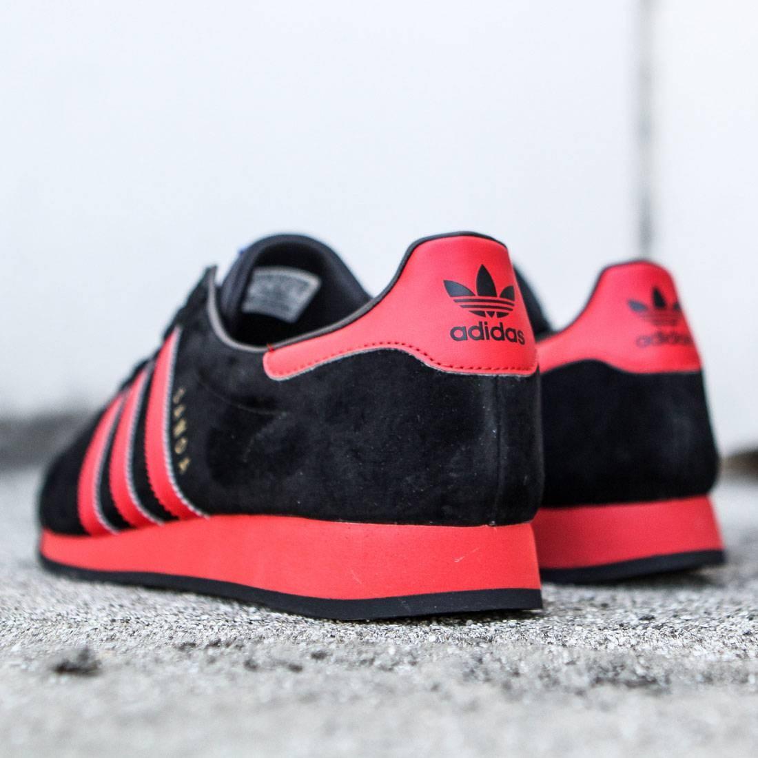 adidas samoa red and black