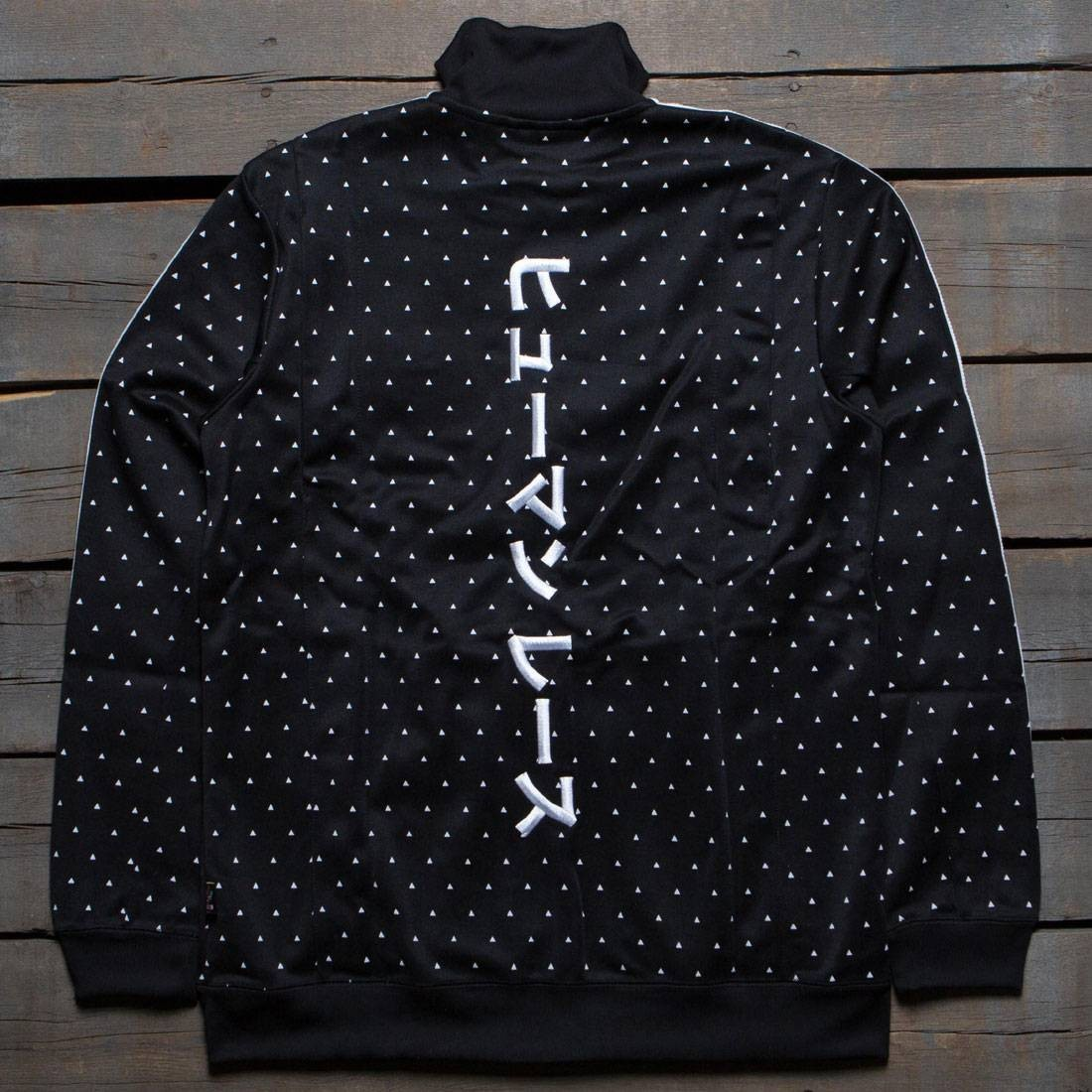 4fc9edc26 ... adidas x pharrell williams men hu track jacket (black white)