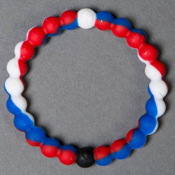 lokia bracelet lokai bracelet world usa white blue 6170