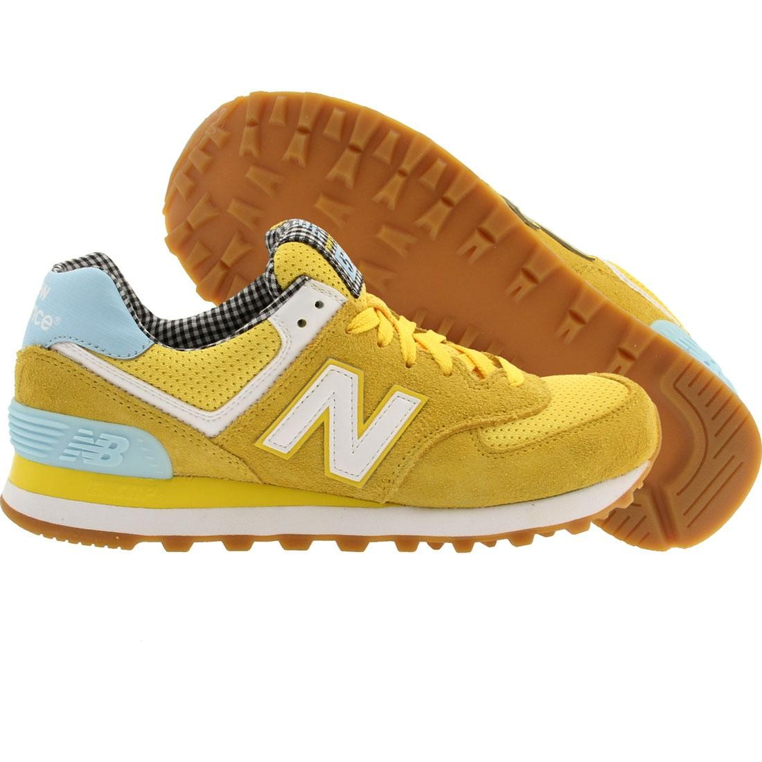 wholesale dealer 59a49 8d716 classic new balance 574 yellow new balance kl574 sale