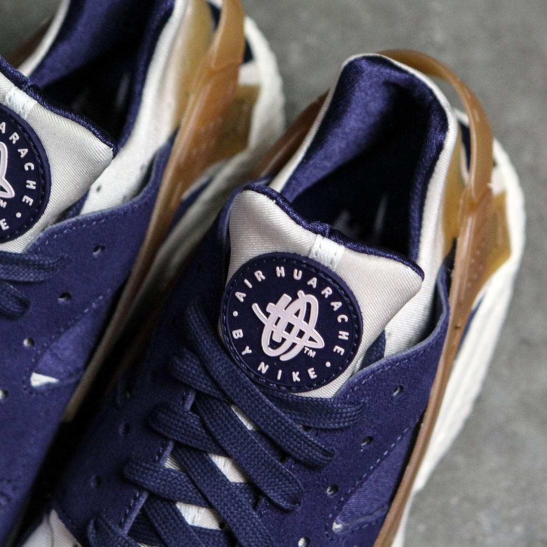 69d88906a87a8 ... Nike Men Air Huarache Run Premium (sail midnight navy-ale brown-pearl  pink .