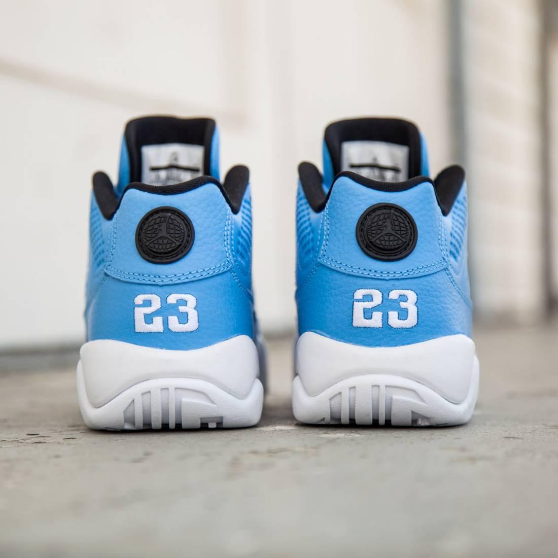 100% authentic 309d0 bcd49 ... Pantone Air Jordans Air Jordan 9 Retro Low (GS) Big Kids (university  blue university blue ...