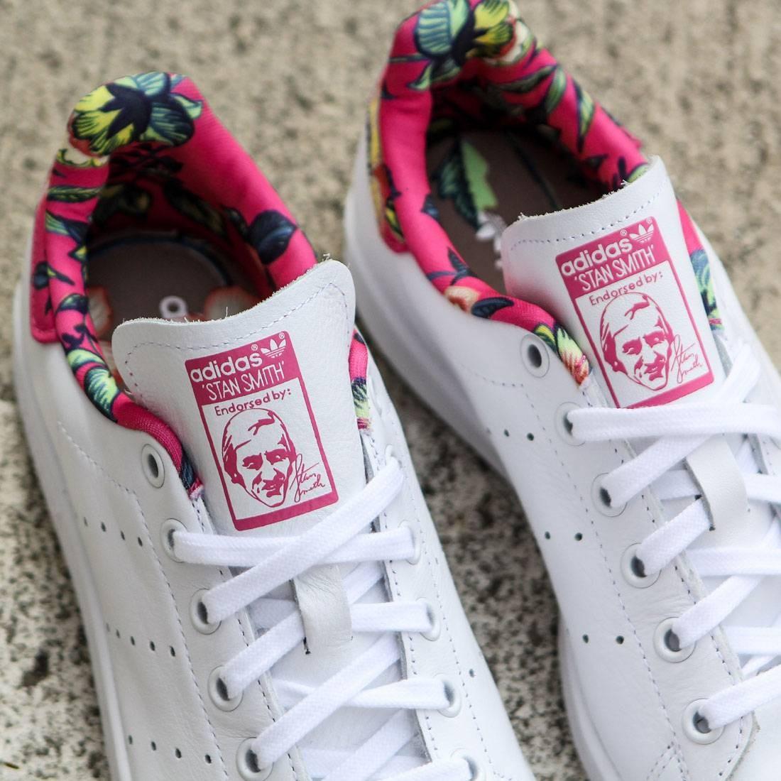 separation shoes 93da6 3b012 Adidas Women Stan Smith white footwear white ray pink