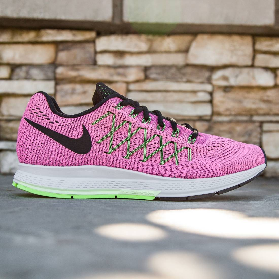 pretty nice 4d2a8 9e349 ... Nike Women Air Zoom Pegasus 32 (pink pink power black barely violet  ghost green) ...