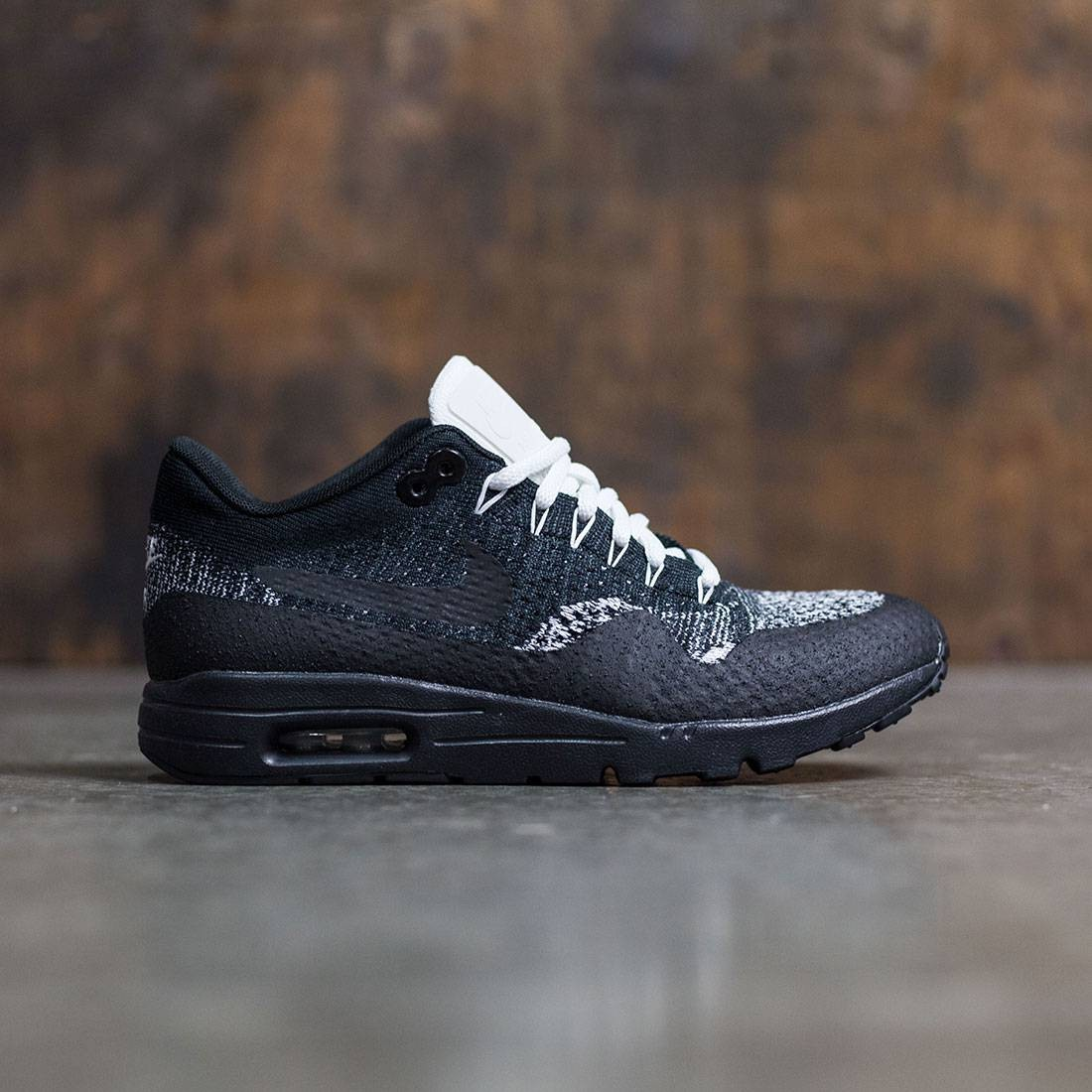 nike women w air max 1 ultra flyknit black anthracite. Black Bedroom Furniture Sets. Home Design Ideas