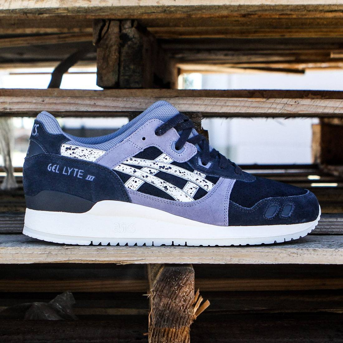 Buy asics gel lyte iii navy grey > Up to OFF68% Discounted