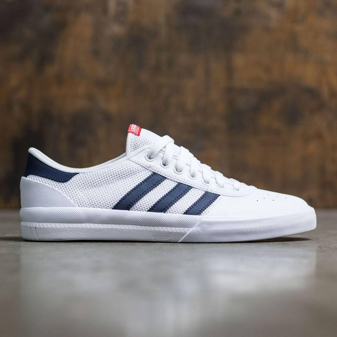 Adidas Lucas Premiere Adv Shoes White Collegiate Navy Scarlet