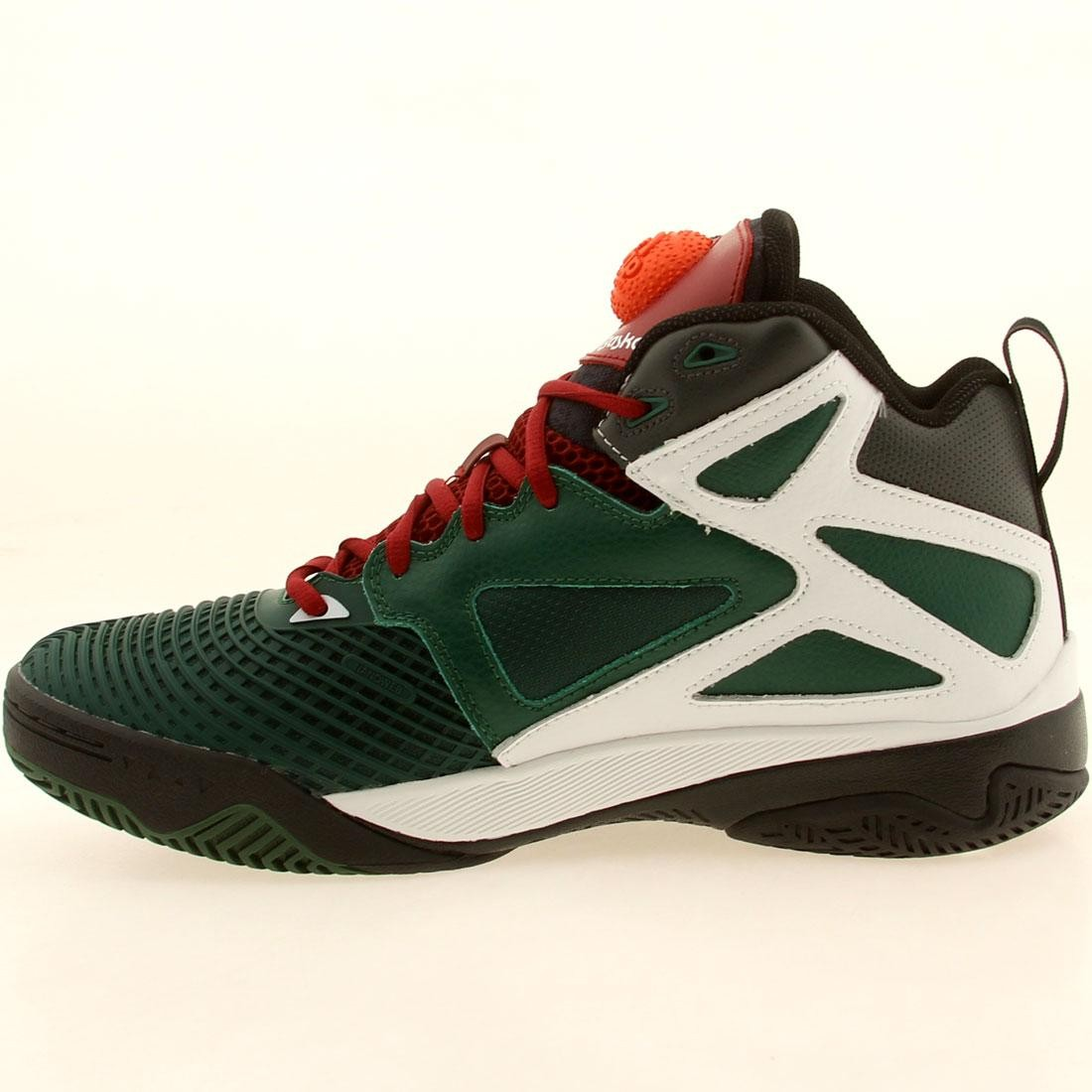 3f552e971a27 Reebok Men Blacktop Retaliate (green   dark green   white   red   silver)