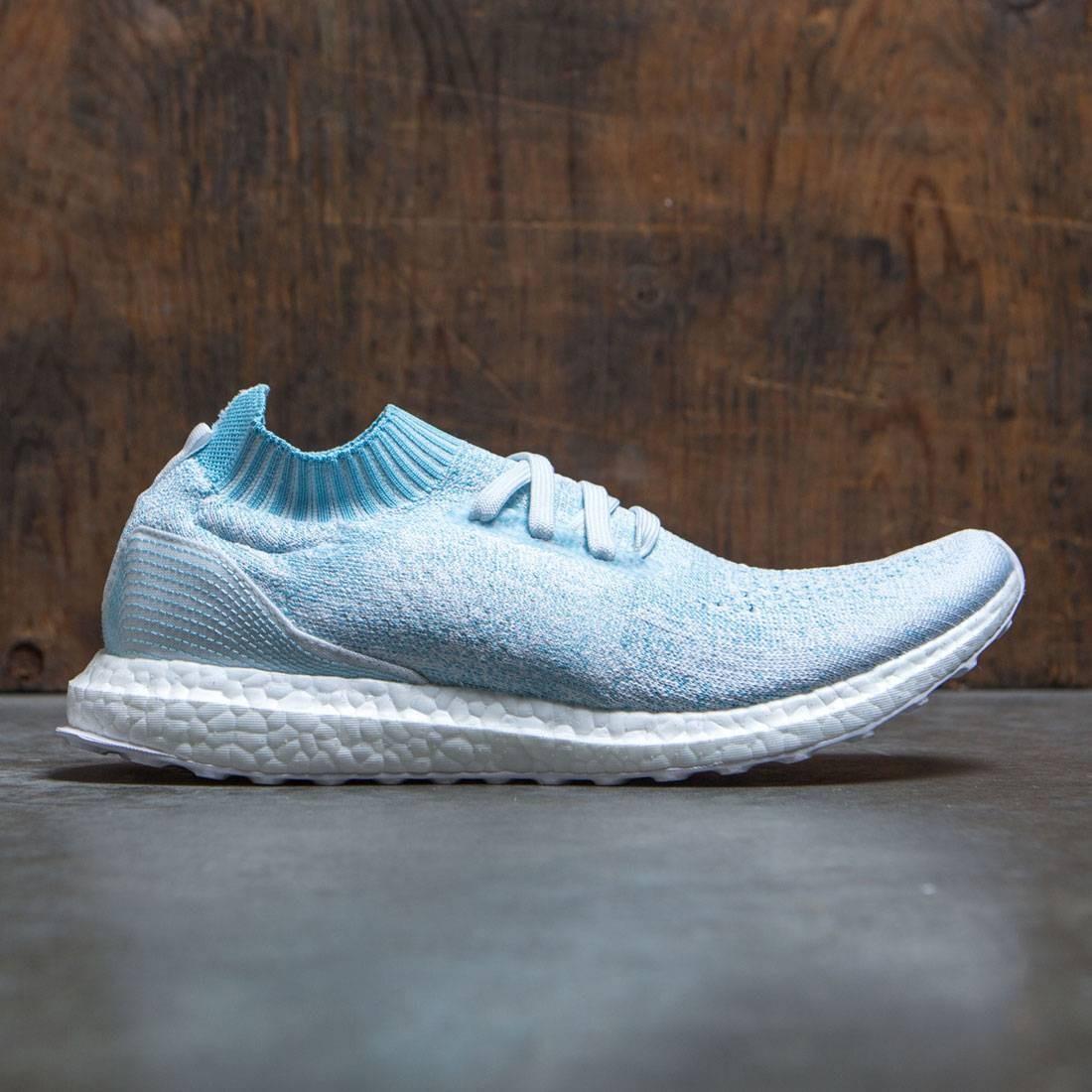 best website e05eb 0411b Adidas Men UltraBOOST Uncaged Parley blue icey blue footwear white