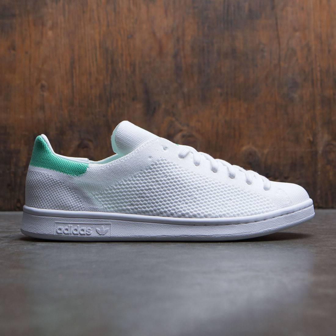 adidas men stan smith primeknit white footwear white green. Black Bedroom Furniture Sets. Home Design Ideas