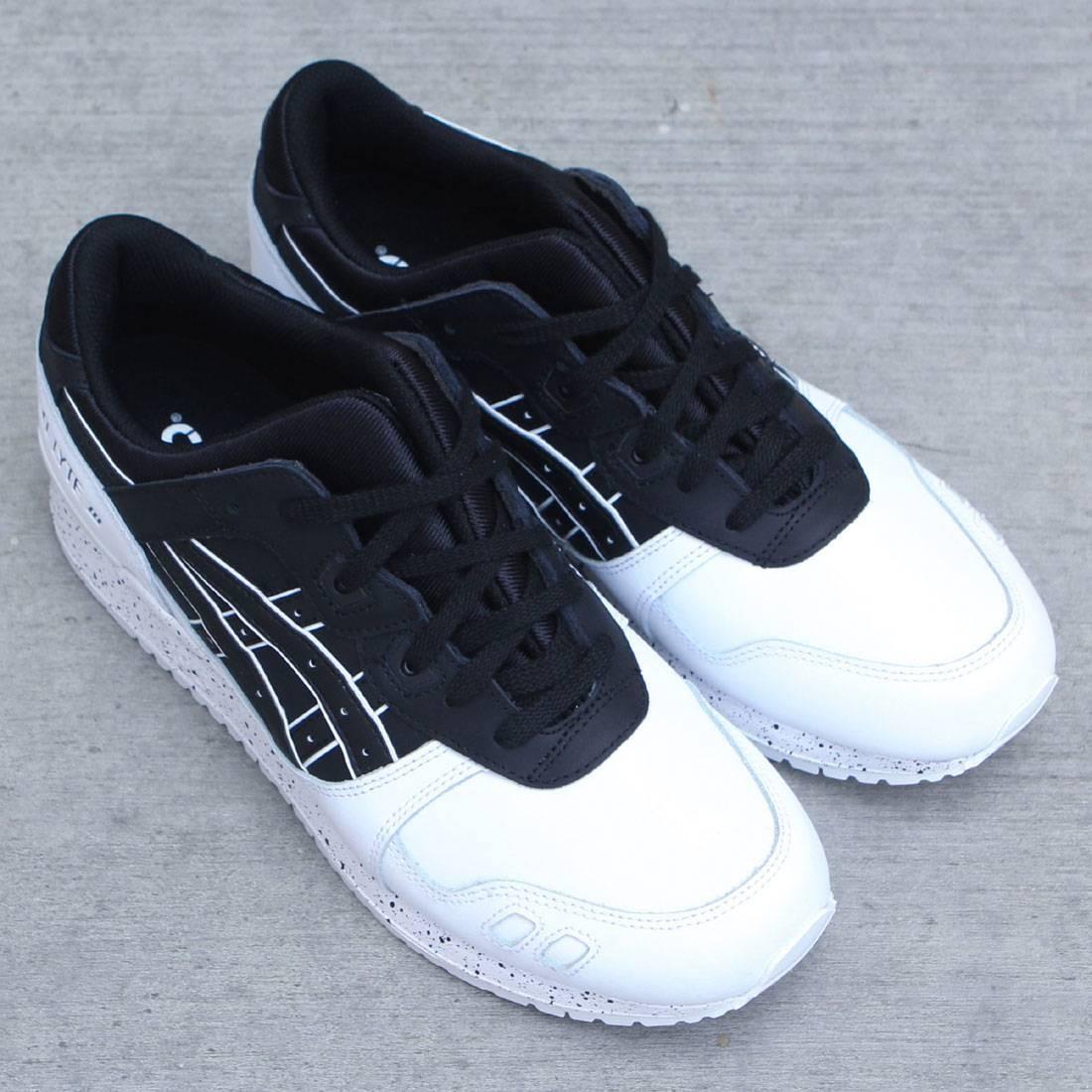 asics tiger men gel lyte iii black black white. Black Bedroom Furniture Sets. Home Design Ideas
