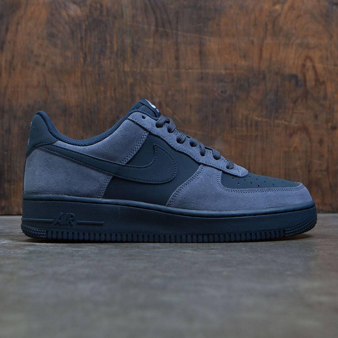 Nike Men Air Force 1 Armory Blue Armory Navy White Black