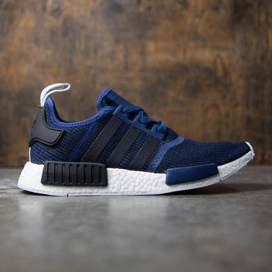 finest selection 4d4a8 e88e9 adidas NMD R1 PK Winter Wool Black Glitch 11.5