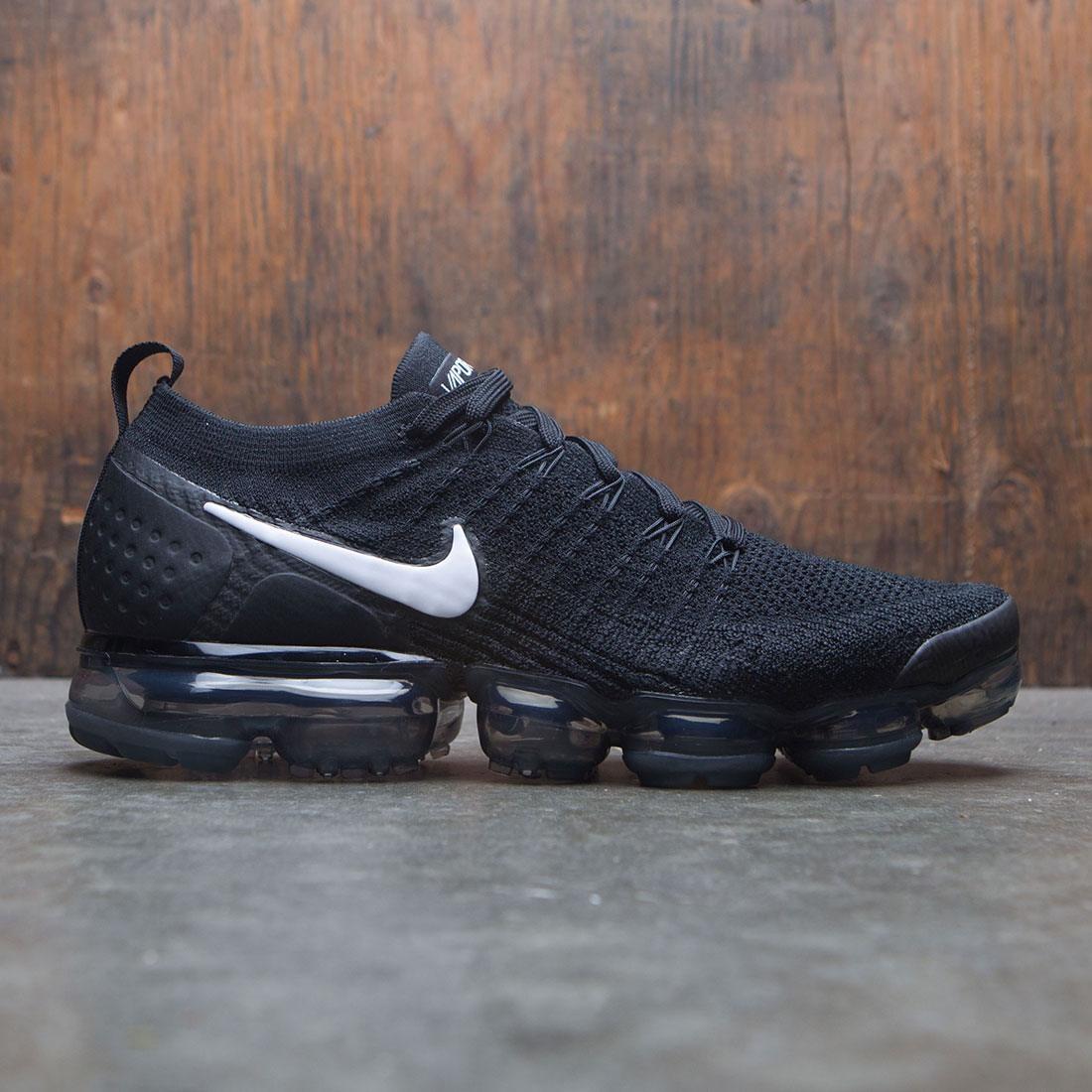 0aae39fdc535 ... running shoes  nike men air vapormax flyknit 2 (black white dark grey  metallic silver)