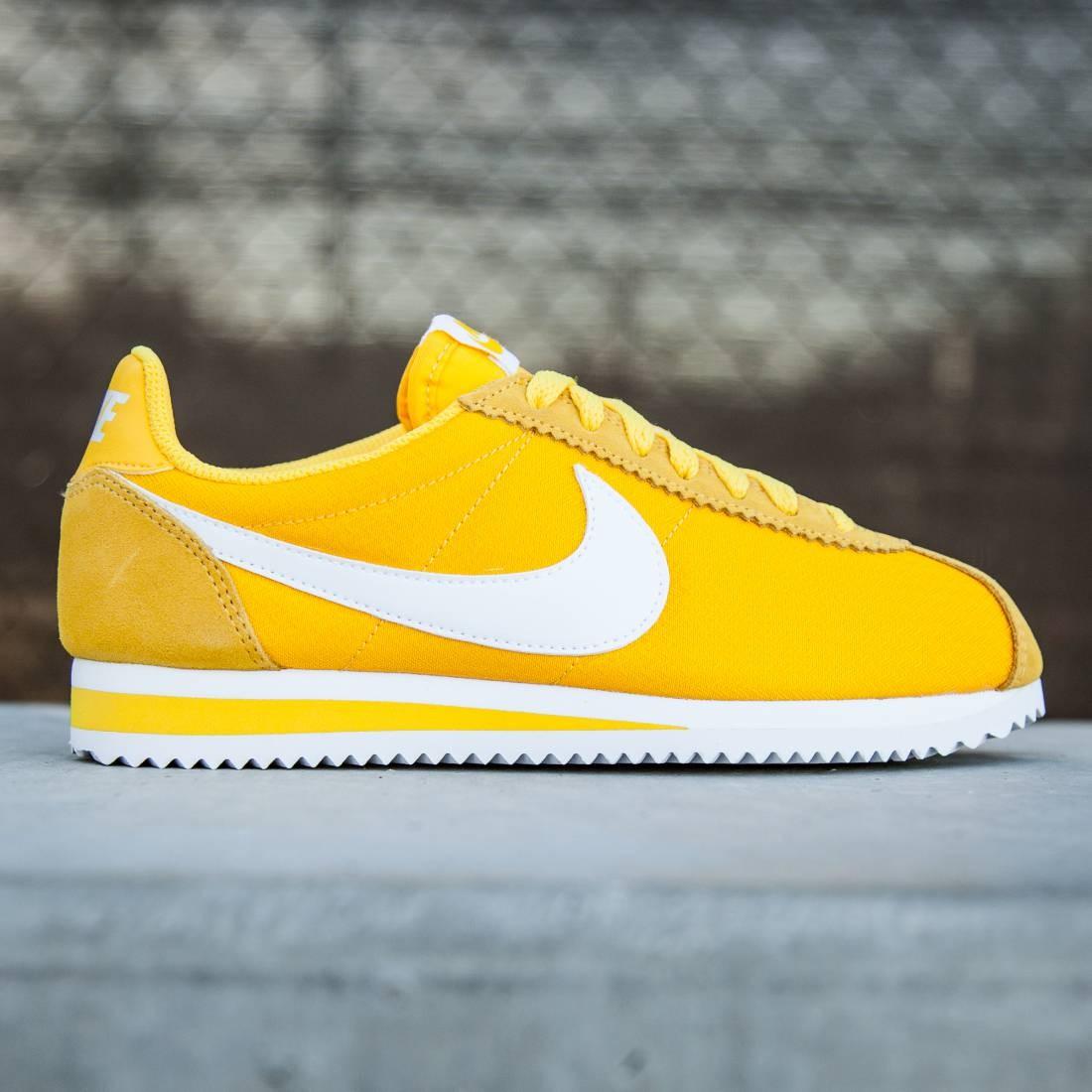 nike cortez womens yellow Shop Clothing