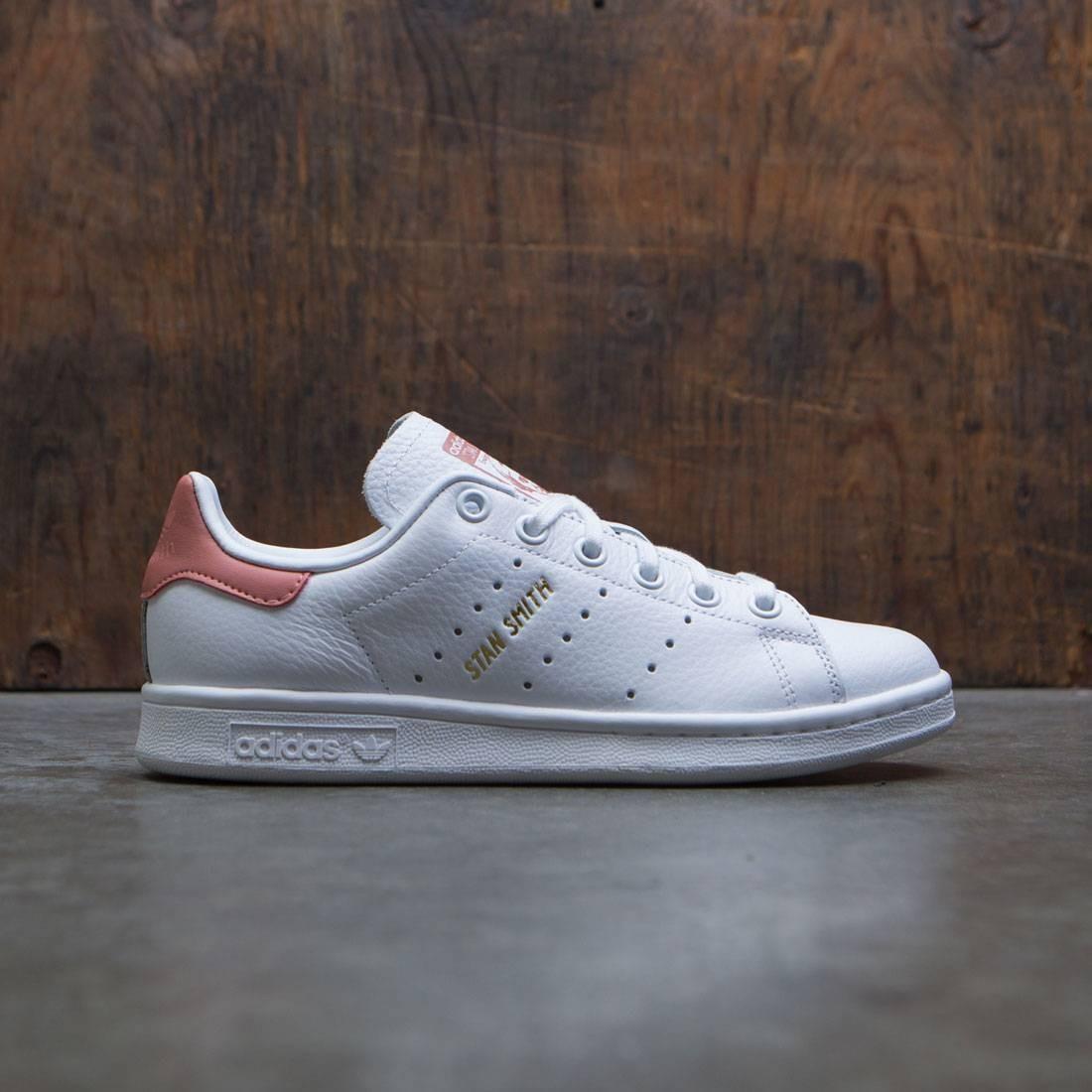 adidas big kids stan smith j white footwear white raw pink. Black Bedroom Furniture Sets. Home Design Ideas