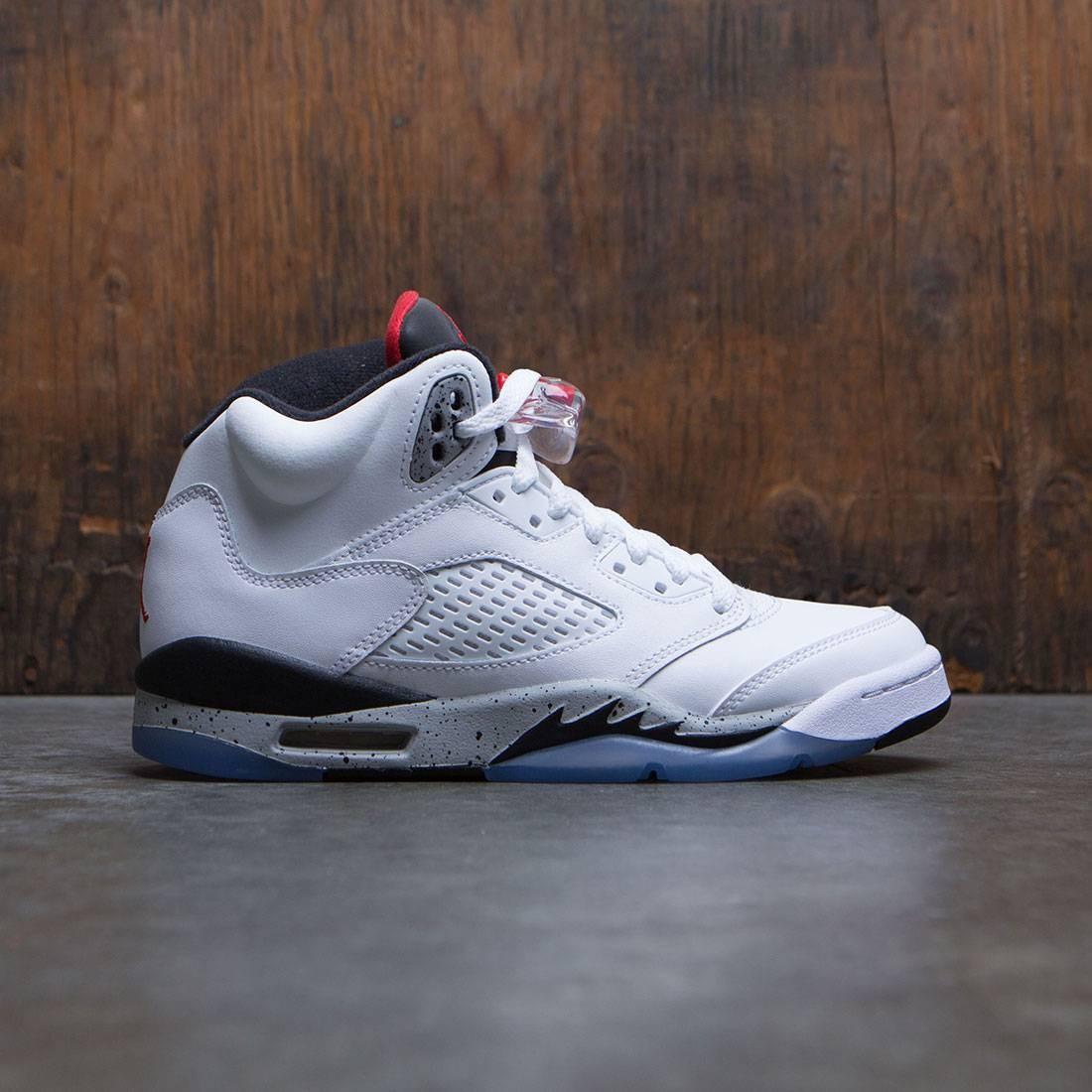 outlet store 5383a 67631 ... inexpensive find sneaker 16ad8 61cf9 air jordan 5 retro gs big kids  white university 37ad3 09de9 ...