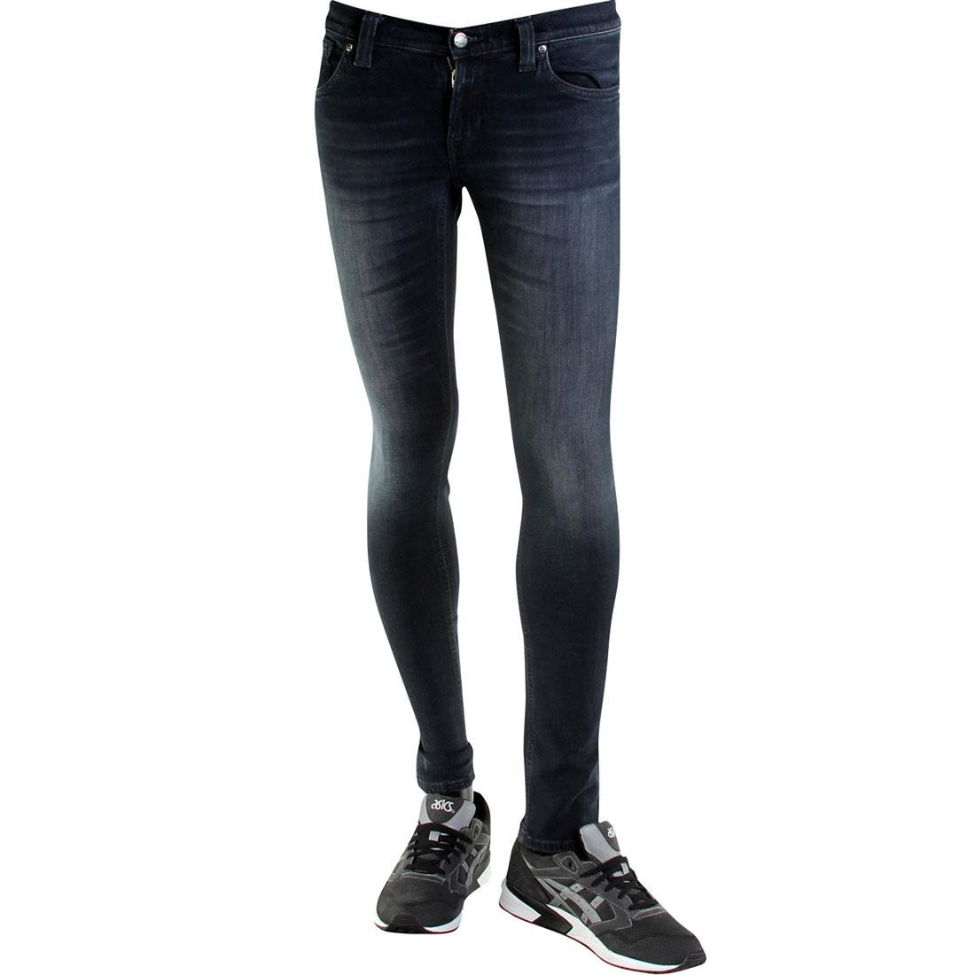 Image is loading Nudie-Jeans-Co-Tight-Long-John-black-gray 1f80788b86bb