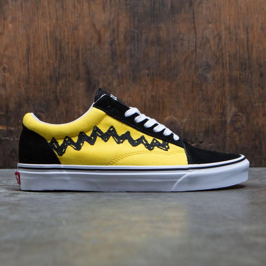 vans old skool x peanuts yellow