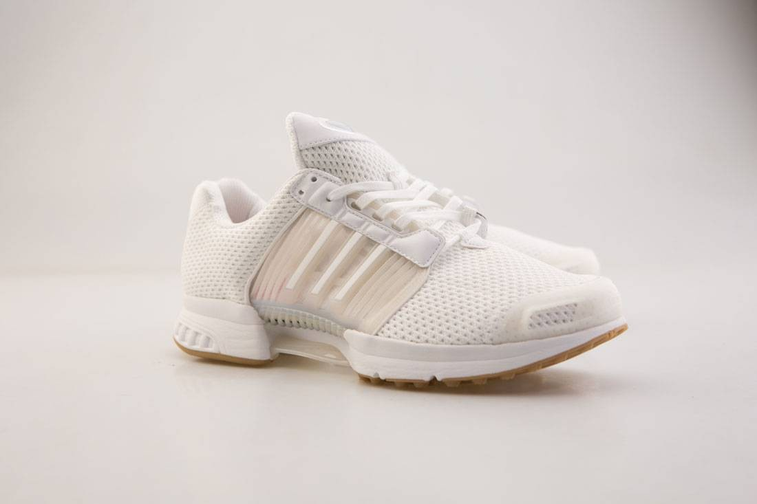 best sneakers 3e613 7000f Image is loading Adidas-Men-Climacool-1-white-footwear-white-gum-