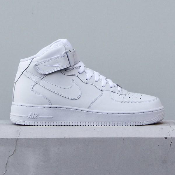Nike Men Air Force 1 07 Mid (white / White