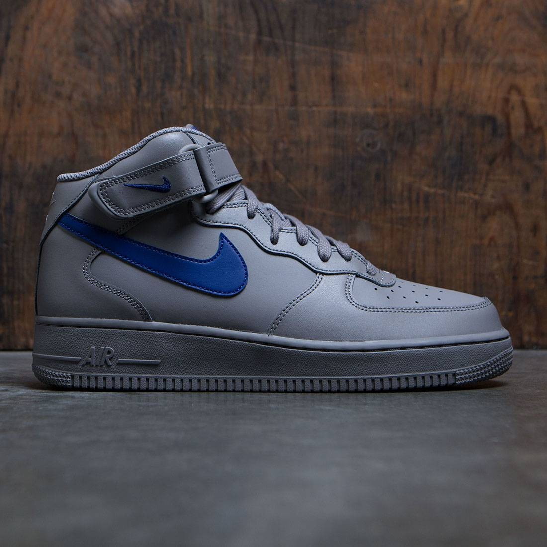 nike men air force 1 mid 07 dust deep royal blue. Black Bedroom Furniture Sets. Home Design Ideas