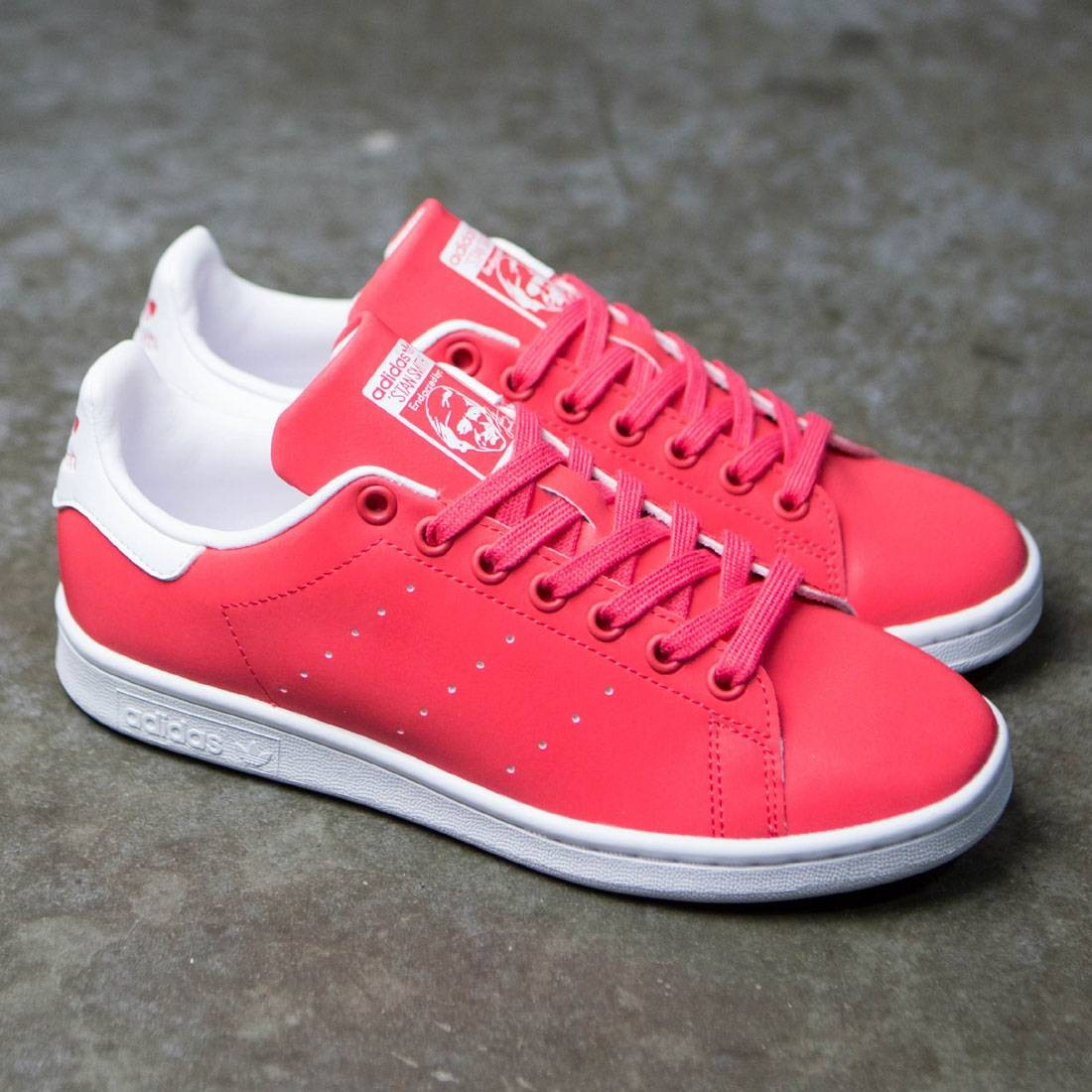 adidas women stan smith pink core pink footwear white. Black Bedroom Furniture Sets. Home Design Ideas