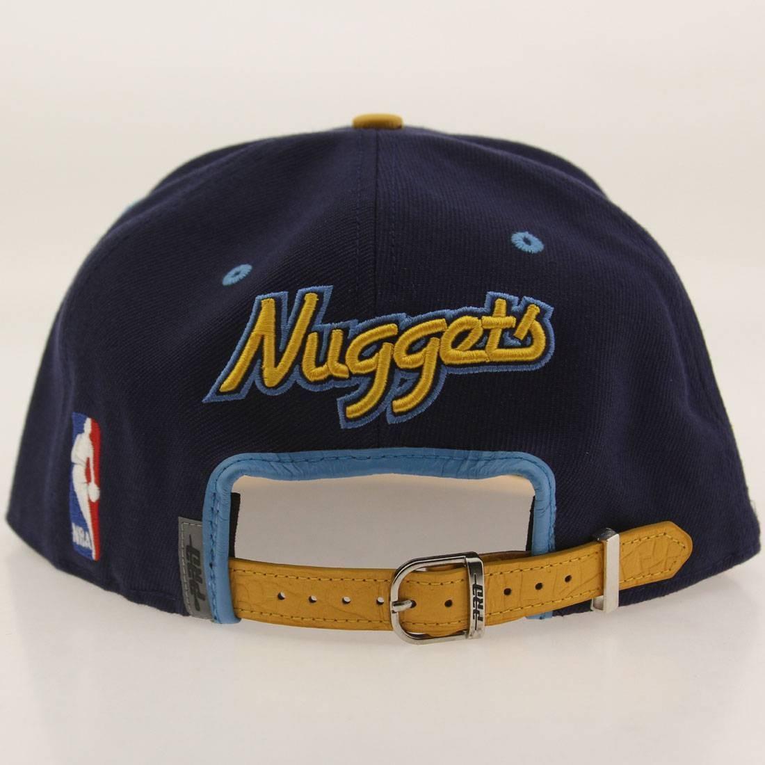 Pro Standard X NBA Denver Nuggets Logo Adjustable Cap Navy