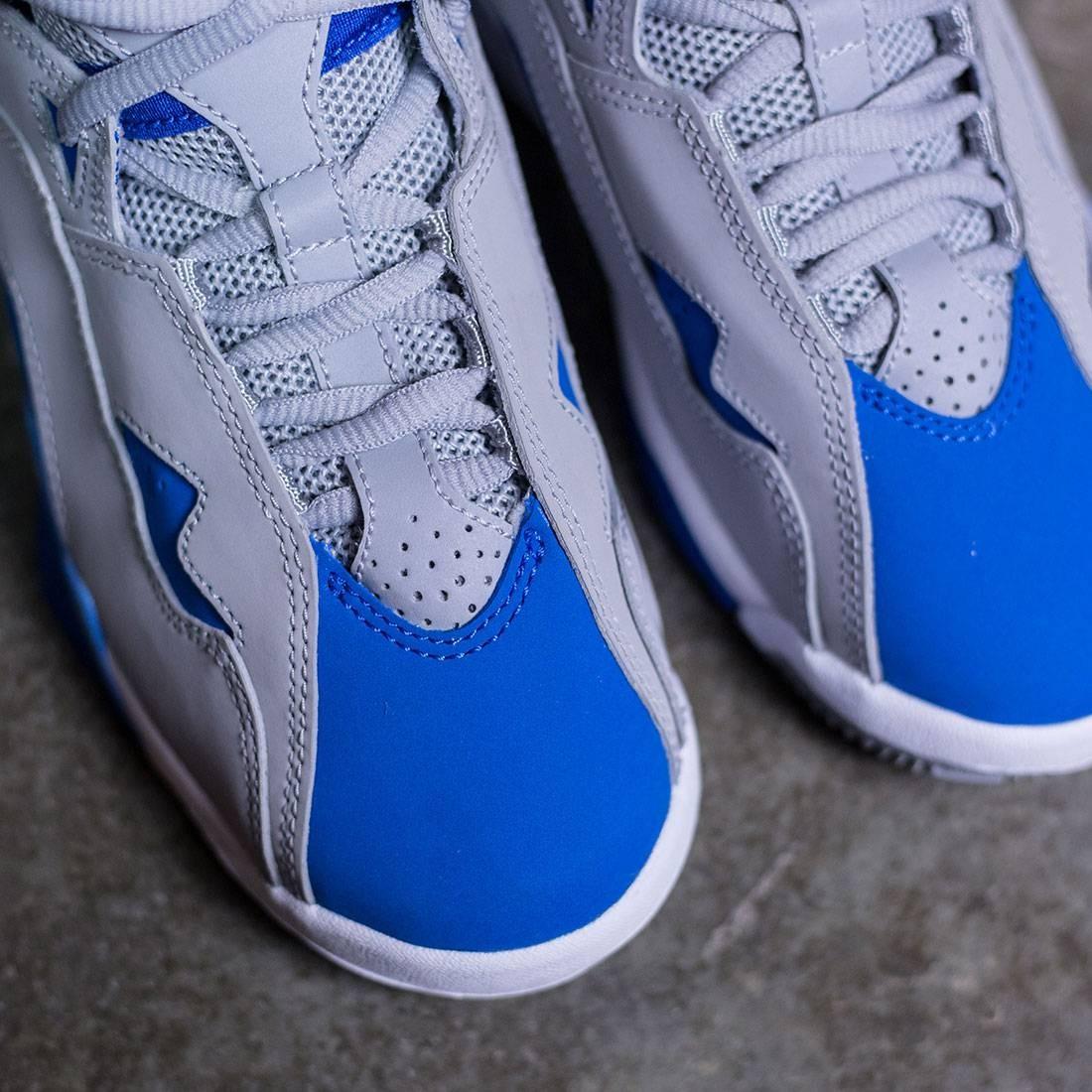 super popular cead4 356f6 ...  343795-005  Air Jordan True Flight Bg Wolf Grey white blue Jordan Big  Kids True Flight (GS) (wolf grey   white-blue spark ...