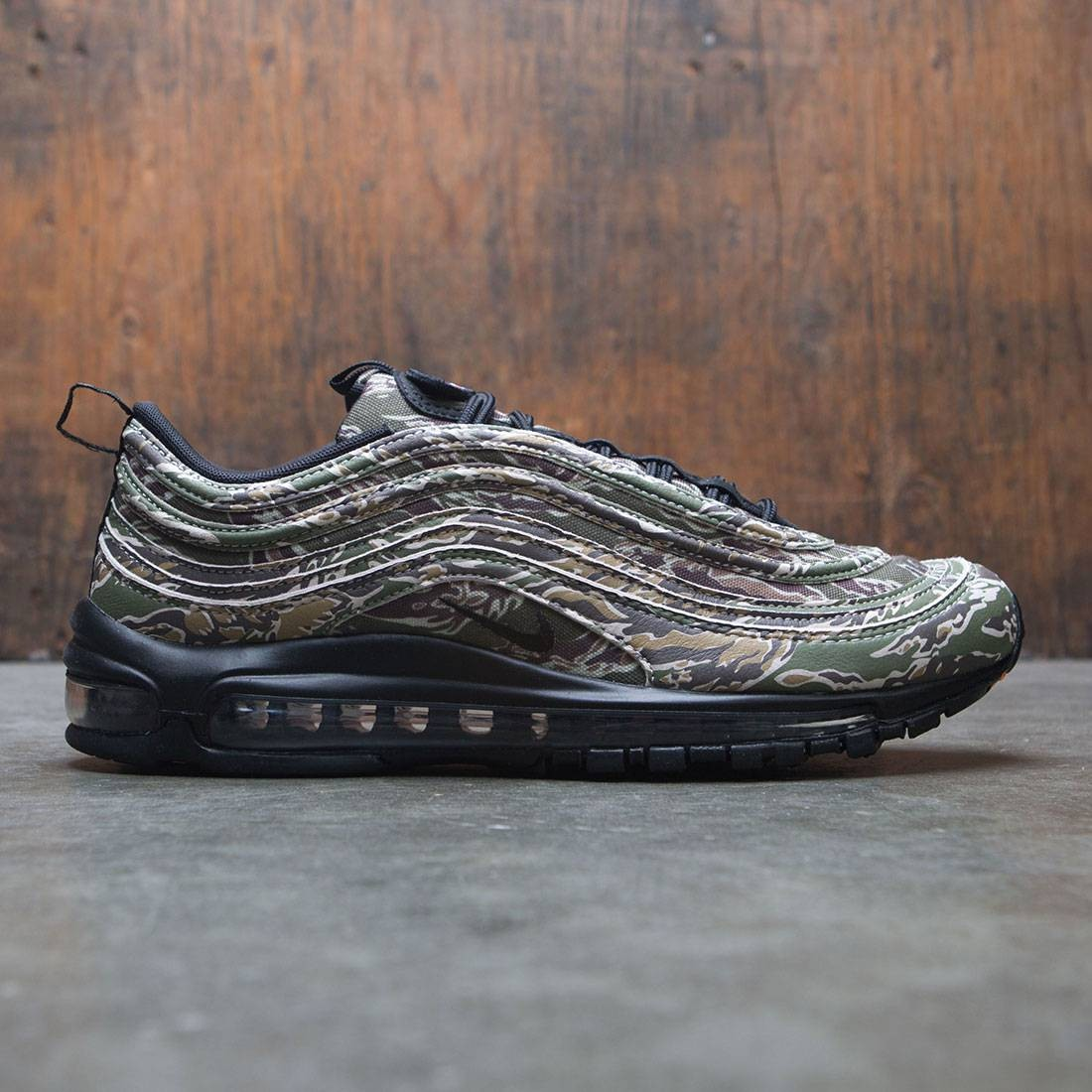 Nike Air Max 97 Premium QS USA Camo Medium OliveBlack