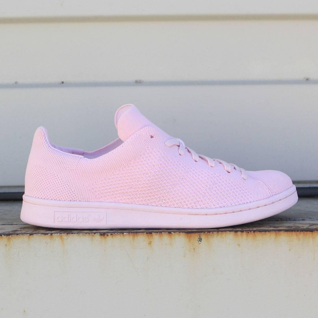 adidas men stan smith primeknit pink semi pink glow. Black Bedroom Furniture Sets. Home Design Ideas