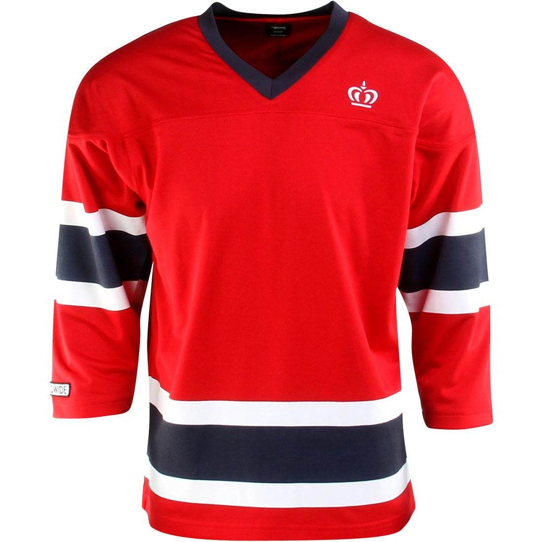 7b748856a71e2 Details about Stussy Mesh Hockey Jersey (red)