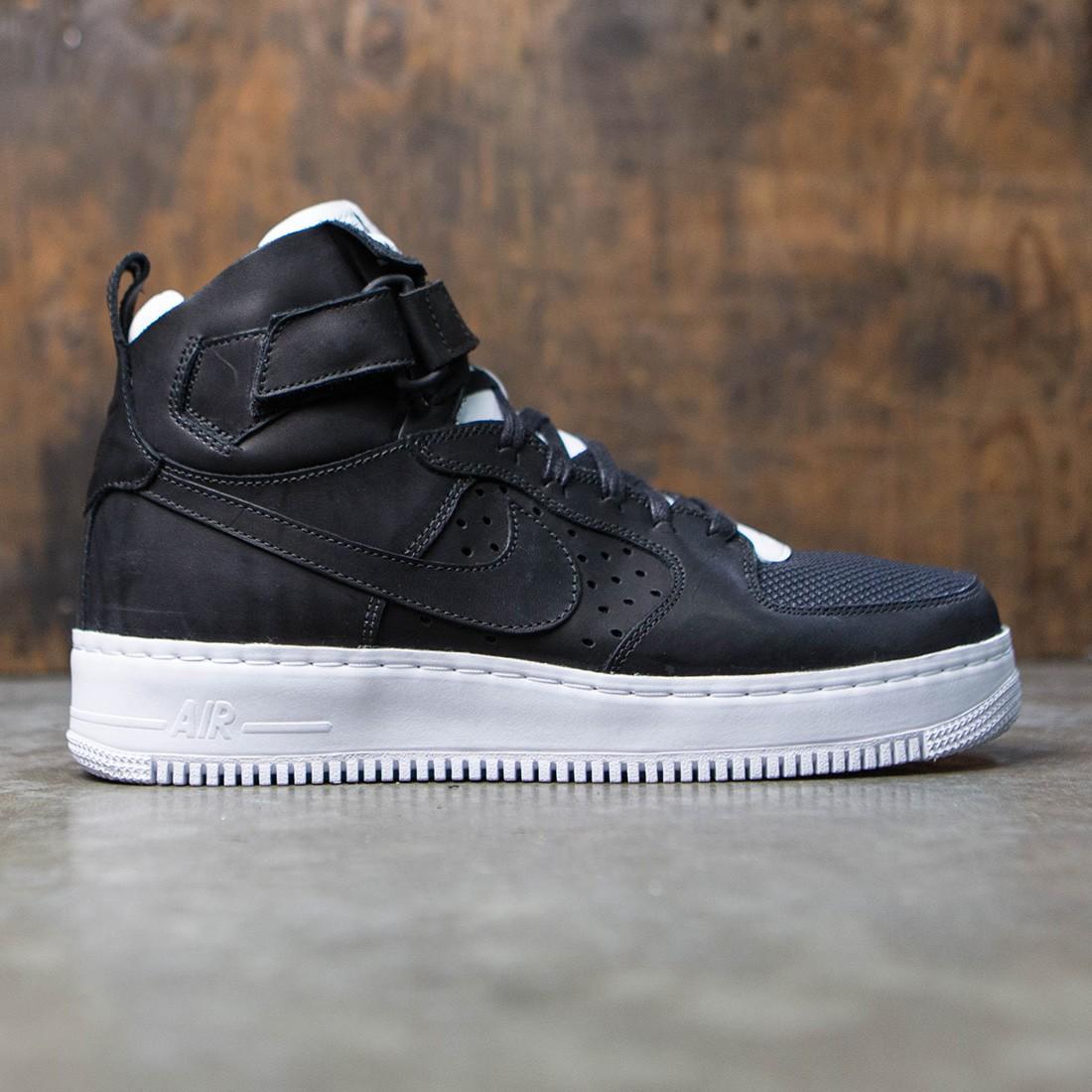 Nikelab Men Air Force 1 Hi Cmft Tc Sp Black Black White