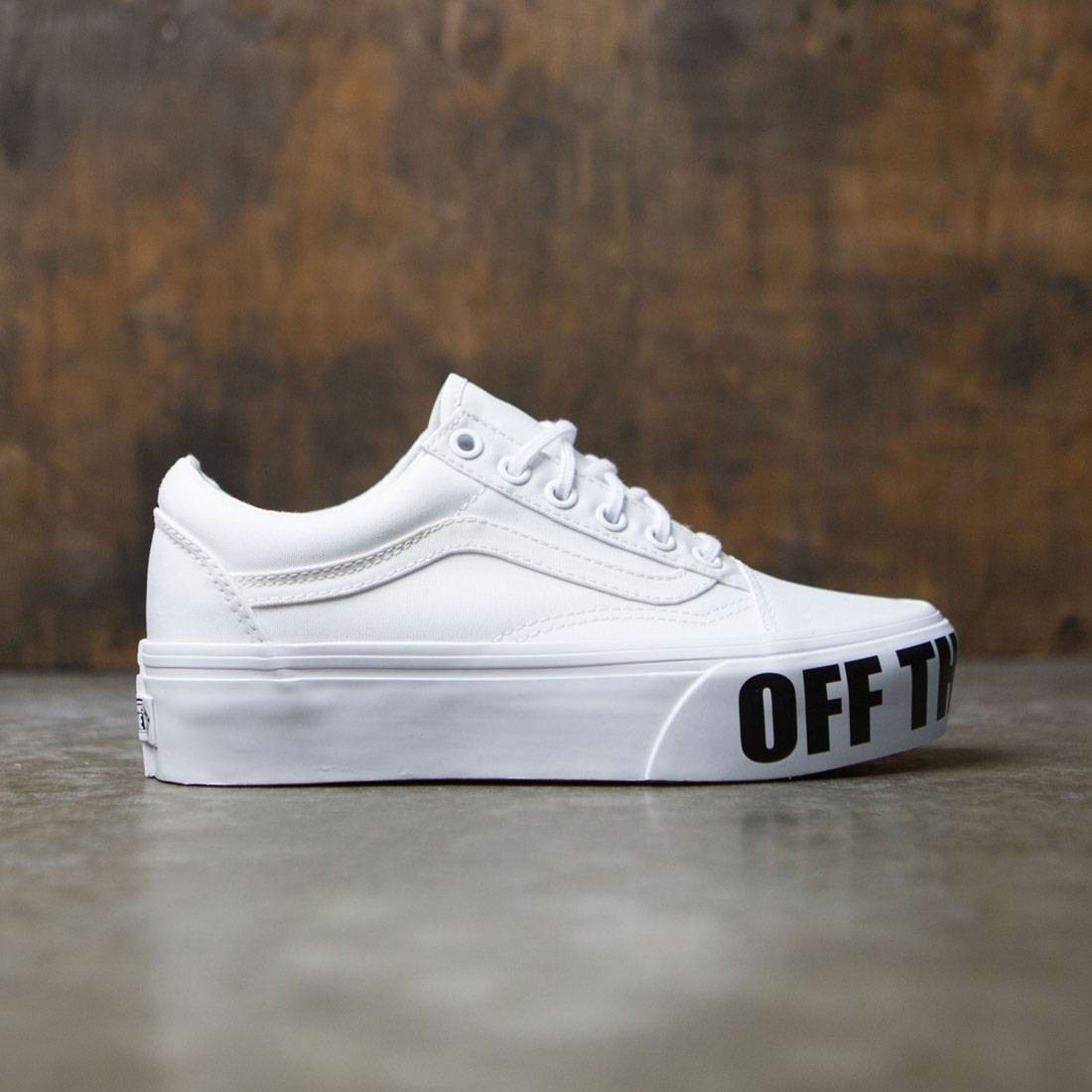 Vans Women Old Skool Platform White True White
