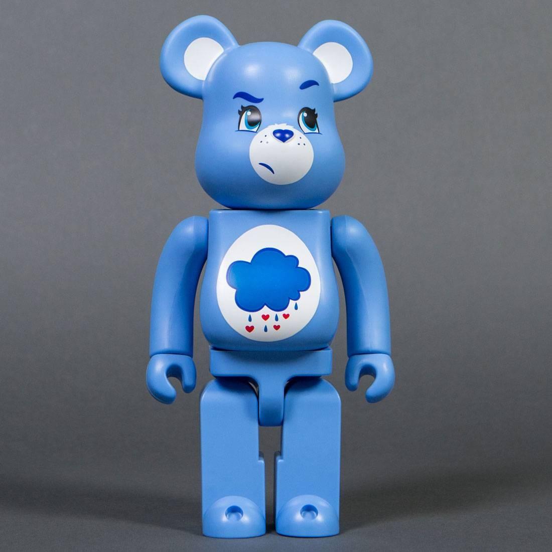 Medicom Care Bears Grumpy Bear 400% Bearbrick Figure blue