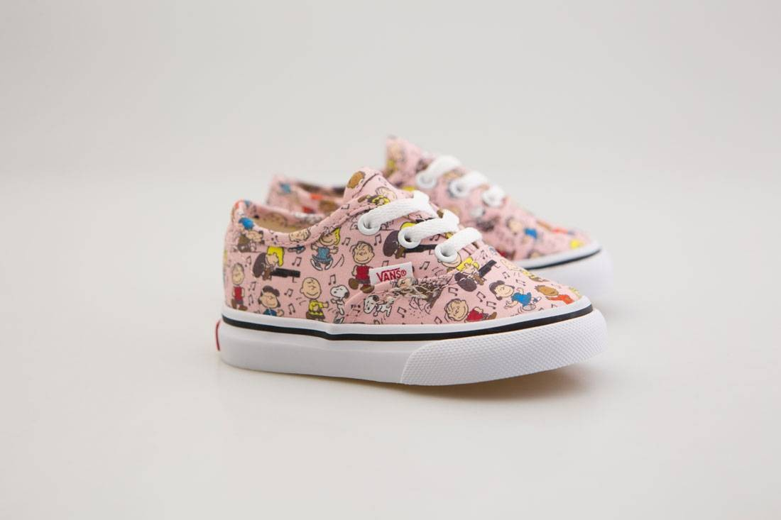 972f8b21f0 Image is loading Vans-x-Peanuts-Toddlers-Authentic-Dance-Party-pink-
