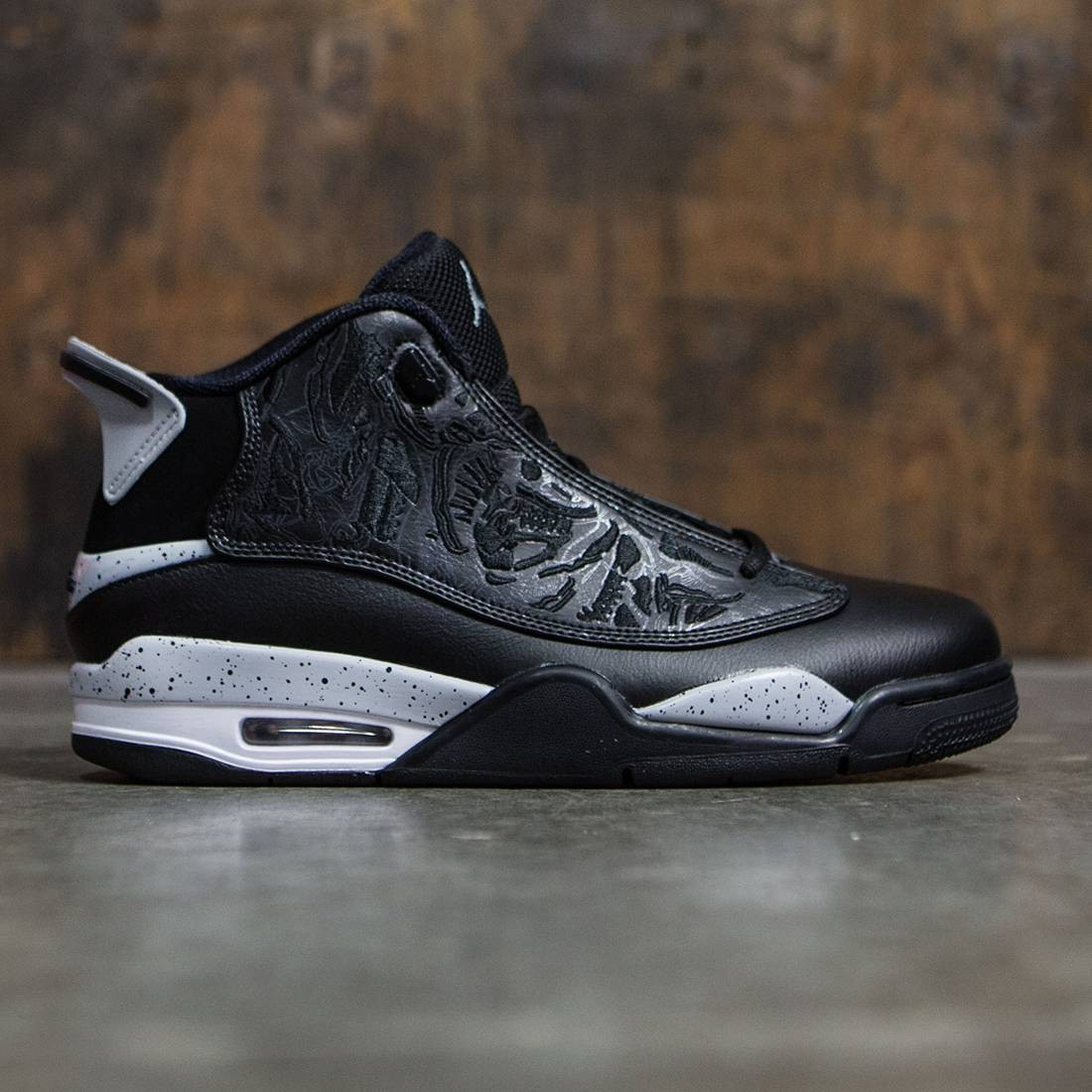 official photos 68168 33426 air jordan dub zero  jordan men air jordan dub zero (black wolf grey white)