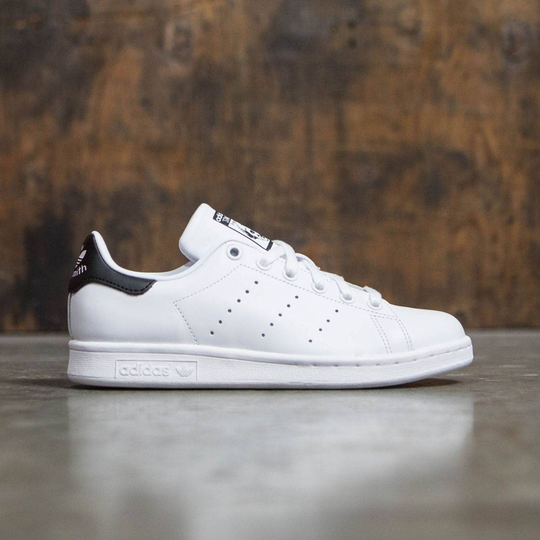 adidas women stan smith white footwear white core black. Black Bedroom Furniture Sets. Home Design Ideas