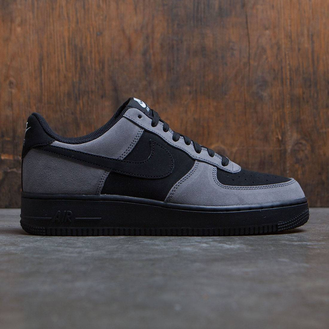 Gray And White Bedroom Furniture: Nike Men Air Force 1 Gray Black White Black