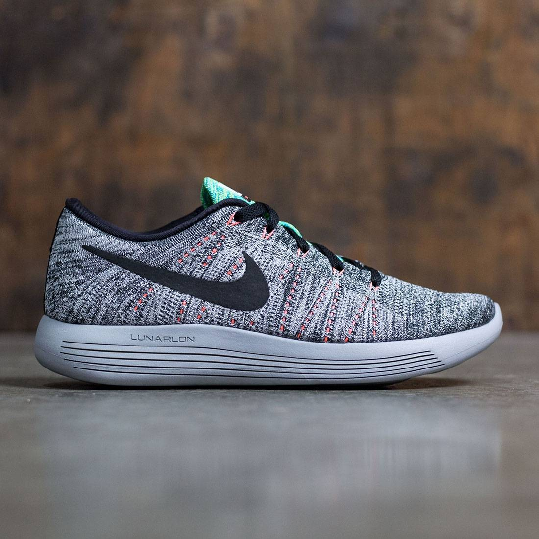 sale retailer f1046 87612 ... Nike Men Lunarepic Low Flyknit Running (white   black-bright  mango-gamma blue . ...